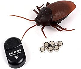 YDD IR Remote Control Mock Fake Cockroaches RC Prank Toys Insects Toy Prop Joke Scary Trick