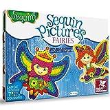 #9: Toykraft 39595 Sequin Pictures - Fairies, Multi Color