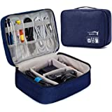 Styleys Gadget Organizer Case, Portable Zippered Pouch for All Small Gadgets, HDD, Power Bank, USB Cables, Power Adapters, et