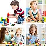 Anteel Finger Wachsmalstifte, Handflächen Wachsmalstifte für Kinder, 12 Farben 3D Buntstifte Sticks Stapelbare Spielzeug für Jungen und Mädchen, Sicherheit und Ungiftig von Anteel