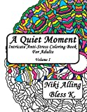 A Quiet Moment: Intricate Anti-Stress Coloring Book For Adults (Volume 1) by Niki Alling (2015-07-28)