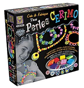 Creative Toys - Ct 5447 - Kit Loisirs Créatifs - Perle Et Bijoux - Crée Et Fabrique Tes Perles Cerimo