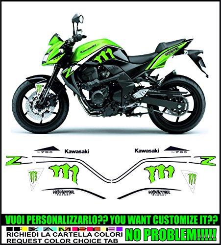 Kit adesivi decal stikers KAWASAKI Z750 (ability to customize the colors)