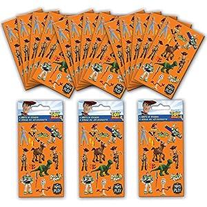 Paper Projects 01.70.24.048 Toy Story 4 - Pegatinas para fiestas (18 hojas)