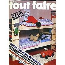 TOUT FAIRE N°12 - 1977 - Aménagez votre cave à vin - plein jour sur les tringles à rideaux - cet hiver abrtiez les petits oiseaux - sos meules bancals - toutes griffes dehors - un mini golf pour les jours de pluie - l'école de papa etc.