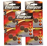 Energizer Miniatur-Lithium-CR2032 Knopfzelle Einwegbatterie 2er-Pack - im 5er Set