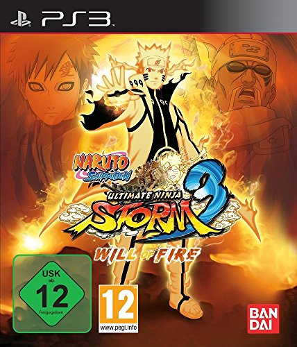 Naruto Shippuden Ultimate Ninja Storm 3 WILL OF FIRE Collectors Edition (Naruto Shippuden Storm 3)