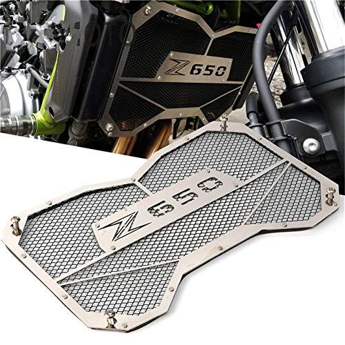 Preisvergleich Produktbild Kqlx Kawasaki Z650 Kühlergrill Schutzabdeckung Beschützer Kühlergrill Schutz Schutz Wassertank Schutz für Kawasaki Z650 2017 2018, Black