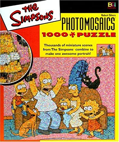 Simpsons Photomosaic Family Jigsaw Puzzle 1026pc by Buffalo Games