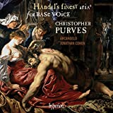 Handel's finest arias for Base Voice