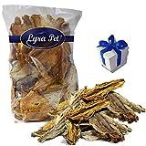 Lyra Pet 500g Croaker Fisch Trommler Trockenfisch Hundefutter Snack + Geschenk