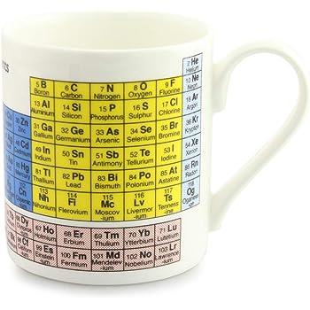 mclaggan smith periodic table fine bone china mug