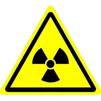 Iso Safety Sign International Radioactive Hazard Symbol Self