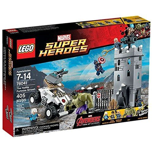 Preisvergleich Produktbild Marvel Lego Super Heroes Avengers The Hydra Fortress Smash Set (76041) by Marvel