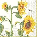 IHR Servietten Lunch 33x33cm Sonnenblume Helianthus