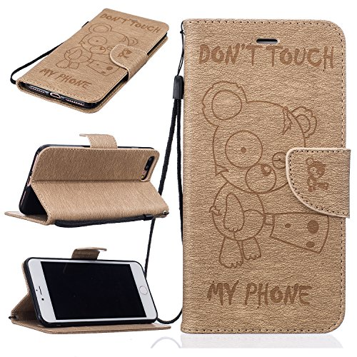 bonroy-iphone-7-plus-55-zoll-hlle-lustige-nette-teddybr-folio-schutzhlle-tasche-pu-leder-mit-wallet-