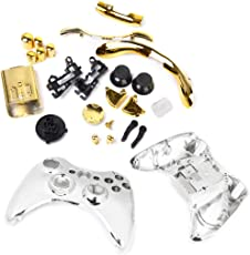 Imported Replacement Housing Shell Case Accesories Kits for Xbox 360 Controller Gold