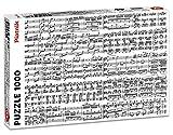 Piatnik - 5434.0 - Puzzle Notes De Musique - 1000 Pièces