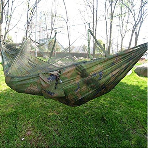Top aus fallschirmmaterial Camping Hängematte mit Moskitonetz - 9