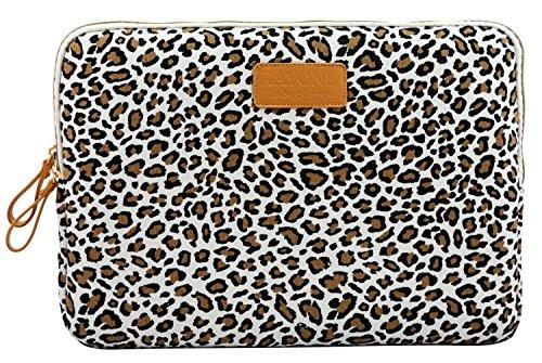 j-bonestr-133-inch-canvas-fabric-laptop-case-cover-bag-laptop-notebook-sleeve-leopards-spot-bag-for-