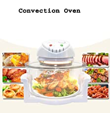Ad Fresh Glass Plastic Convection Oven with Stainless Steel (12L)