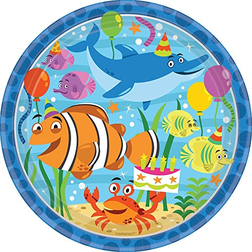 m Ocean Buddies Pappteller (Unter Dem Meer Fancy Dress)