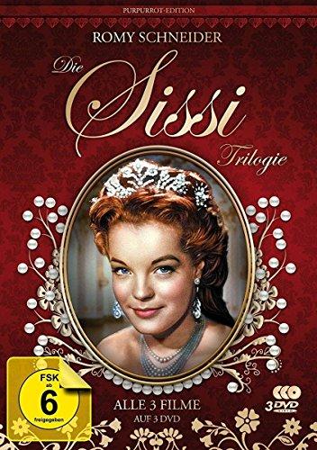 Bild von Sissi Trilogie - Purpurrot-Edition - Filmjuwelen [3 DVDs]