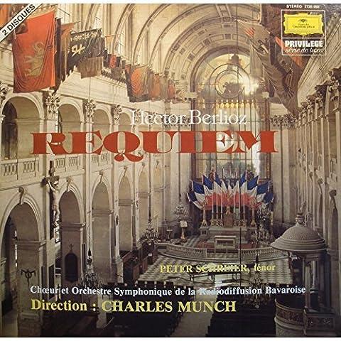 CHARLES MUNCH/PETER SCHREIER requiem BERLIOZ 2LP'S 1980 NM++