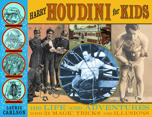 Libro PDF Gratis Harry Houdini for Kids: His Life and Adventures with 21 Magic Tricks and Illusions (For Kids series)