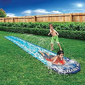 Hang 39 n 10 fun colorful durable water spraying tunnel - Amazon inflatable swimming pool toys ...