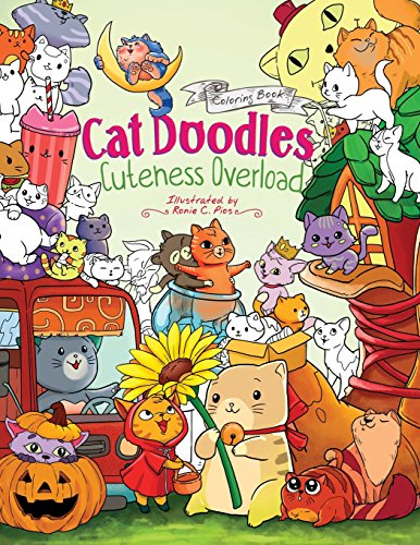 Pdf Download Cat Doodles Cuteness Overload Coloring Book For Adults And Kids A Cute And Fun Animal Coloring Book For All Ages By Julia Rivers Full Pages E4hb2wgv24g4e