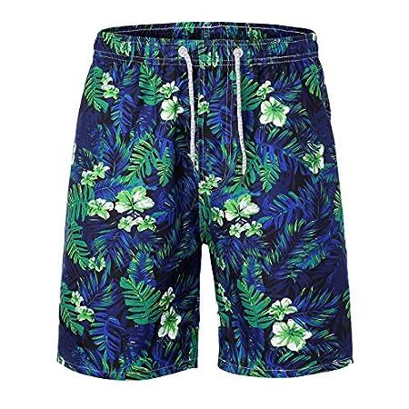 HEMOON Homme Short Maillot de Bain Short Pant Casual Shorts Pant Court Sport Beach