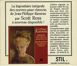 Rameau : Intégrale des oeuvres pour clavecin, Volumes 1 à 3