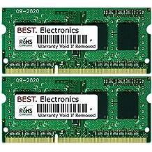 8GB Kit (2x 4GB) Asus N53SM (Dual-core) (2 Slots) memoria ram