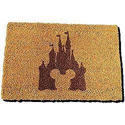 FastCraft Paillasson en Coton Motif château de Disney 60 x 40 cm