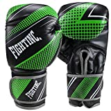 Fightinc. Boxhandschuhe Plasma schwarz/grün (001) 10 Oz