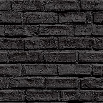 fine decor rustic brick effect charcoal