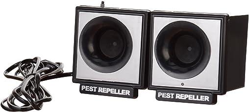Tele Net Ultrasonic Rat / Rodent Repeller Wide Range Pest Repeller Black
