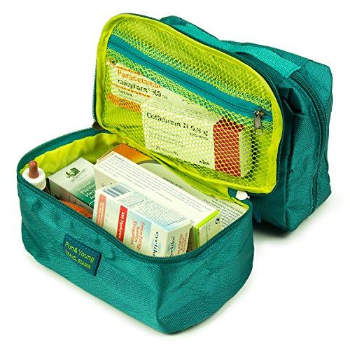 HAUPTSTADTKOFFER - Reisekoffer-Organizer Koffer-Organizer Kleidertasche Packtasche 7-teiliges Set Türkis