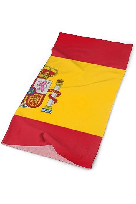 Bandera de España multifuncional al aire libre - (54x36) _169 Bandana Headwear deportes diadema bufanda mágica para mujer para hombre: Amazon.es: Belleza