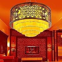 ZJJ Lampadario hotel Lampadario Lampada da soffitto Living Room Restaurant Teahouse 60 * 48CM