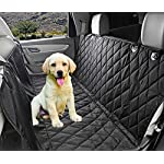 Fragralley Dog Seat Cover Unique Design & Detachable Sherpa Fleece Mat – Ultimate Pet Back Seat Covers for Cars, Trucks… 10