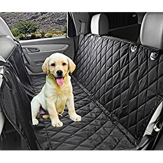 Fragralley Dog Seat Cover Unique Design & Detachable Sherpa Fleece Mat – Ultimate Pet Back Seat Covers for Cars, Trucks… 24