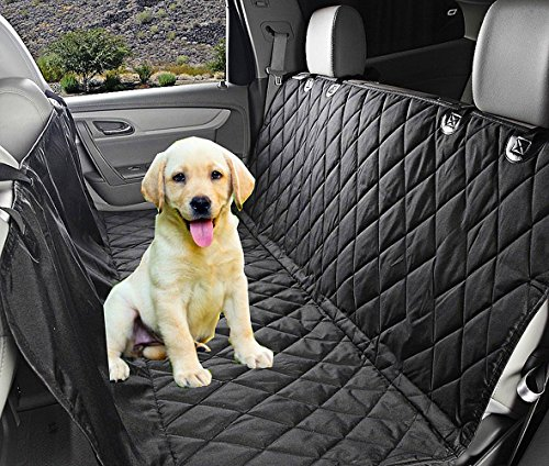 Fragralley Dog Seat Cover Unique Design & Detachable Sherpa Fleece Mat – Ultimate Pet Back Seat Covers for Cars, Trucks… 1