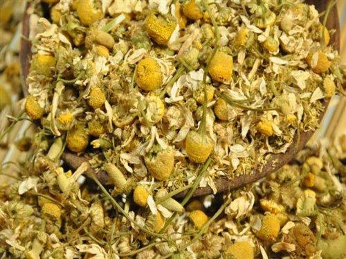 Kamillenblüten Kräutertee, Kamillenblütentee, für Tee, Aufgüsse, Sitzbäder, zum Dekorieren, 100g