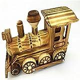 L&LQ Holz Automodell kreative Holzverzierungen , trains