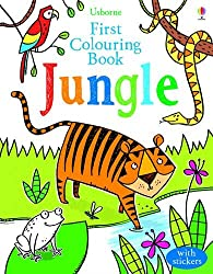 First Colouring Book Jungle (First Colouring Books with stickers)