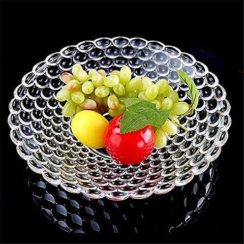 Continental vetro cristallo frutta , moderno ed elegante punto di perla , frutta grande creative soggiorno frutta frutta Doo ,36,5*7.8cm