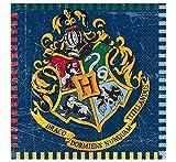 Unique Party 59102 - 6.5 Harry Potter Paper Napkins, Pack of 16