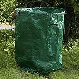 FGHGFCFFGH 2pcs 500 litres réutilisables imperméables Sacs de déchets de Jardin de Coutures Doubles Sacs à ordures